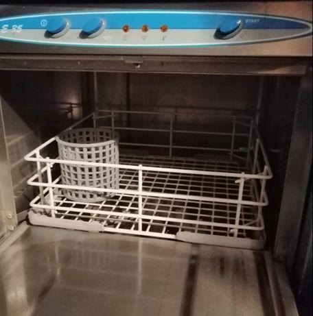 Máquina para hotelaria de lavar chávenas e copos