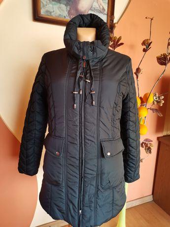 Kurtka zimowa damska czarna pikowana L/40, XL/42, XXL/44 nowa
