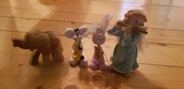 Oddam za darmo figurki aniołki