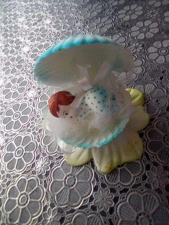 Ozdoba na tort na chrzest
