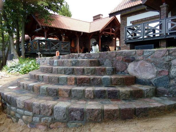 kamień łupany, wjazdy, chodniki,ogrodzenia, schody,murki, olsztyn