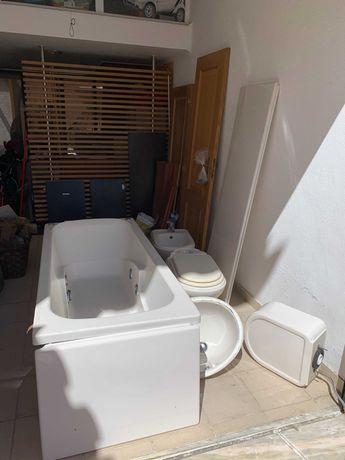 Louças de casa de banho / Banheira Hidro massagem
