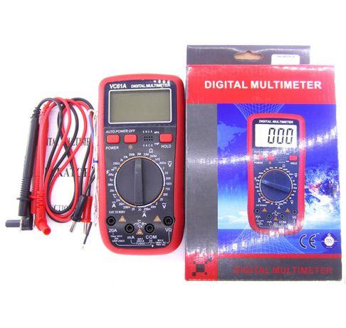 Мультиметр универсальный Digital VC-61A - Многофункциональный тестер!!