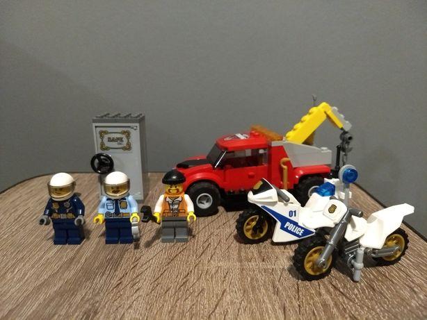 Lego city Лего Сити  60137 побег на буксировщике