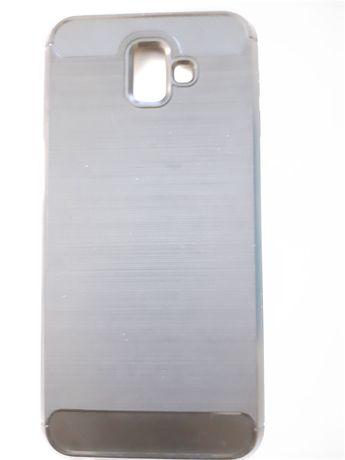 Карбоновый чехол  для Samsung Galaxy j6 +