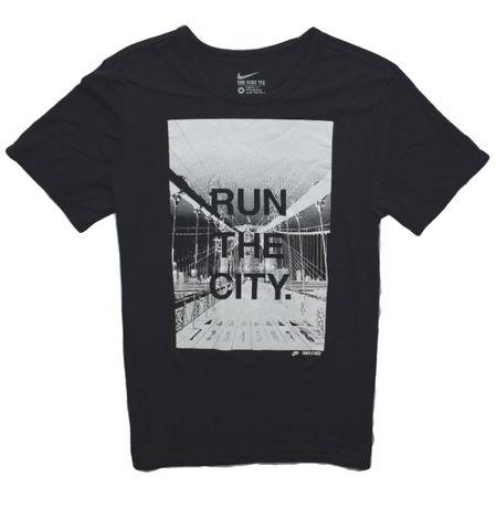 Nike M run the city fajny t-shirt na lato