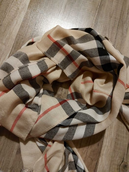 Burberry kaszmirowy szalik Rawa Mazowiecka - image 1