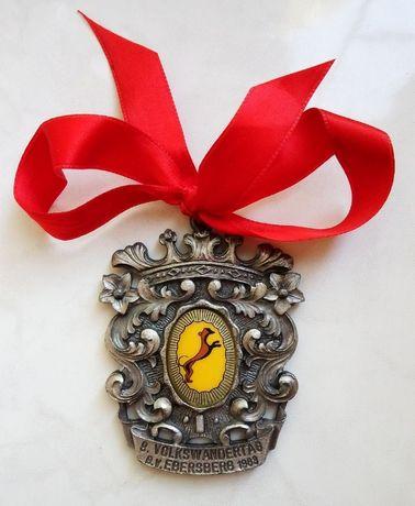 Памятный знак/медаль Fritz Reu & Co. 1983 Германия. Оригинал