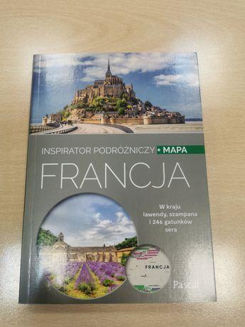 Inspirator podróżniczy + mapa Pascal Francja NOWA