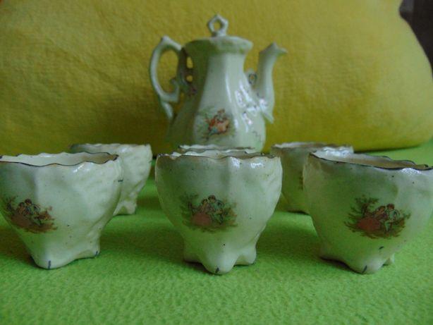 Serwis do kawy i herbaty - ANTYK PRL - 6 osób