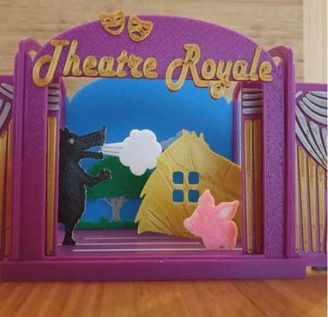 História dos Três Porquinhos interativa para criança - teatro