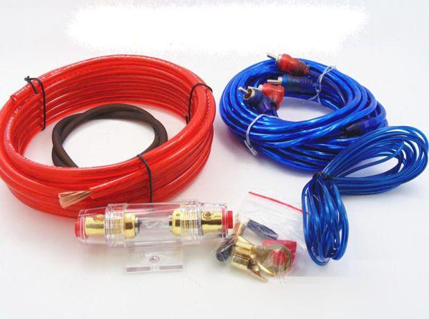 Набор проводов 2500Вт для Усилителя, Сабвуфера GL899. Новые.