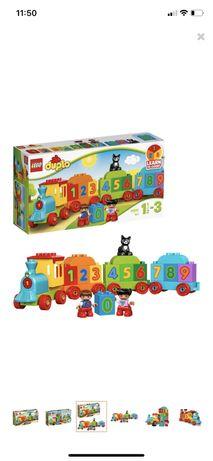 Klocki - LEGO DUPLO - Pociąg z Cyferkami