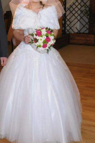 Suknia ślubna s 36