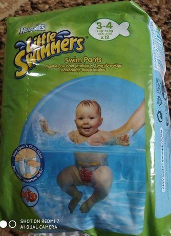 Продам памперсы для плавания