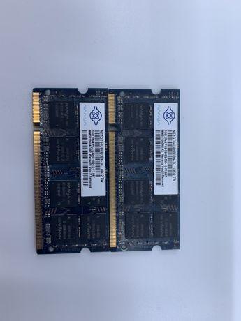 4 модуля DDR2 PC2-5300 4Gb