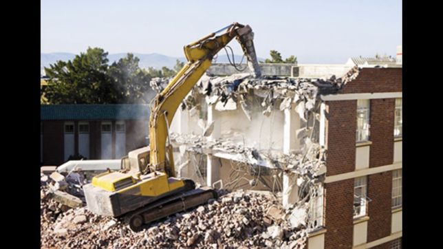 Демонтаж - знос будинків, приміщень, послуги самоскидів, ескаваторів