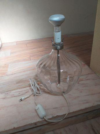 Candeeiro / vidro - com interruptor de aumentar