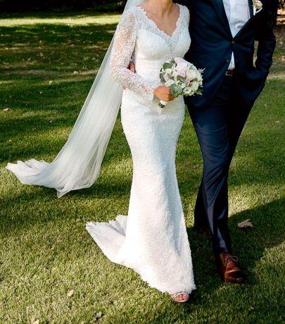 Zjawiskowa suknia ślubna od Violi Piekut