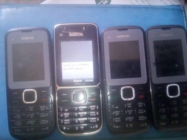 Кнопочный телефон Nokia с зарядным.