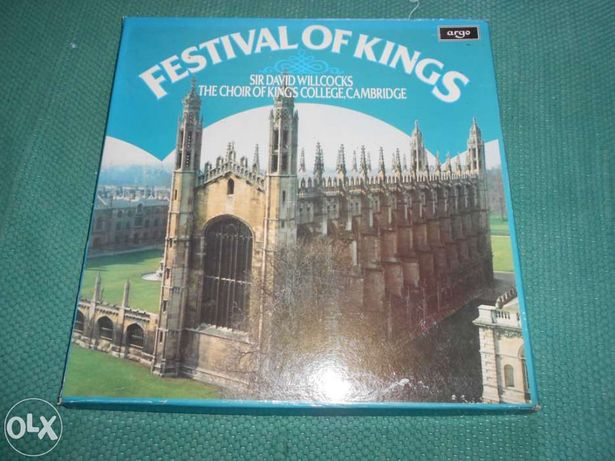 Festival of kings, the choir of king's college cambridge - Vinil