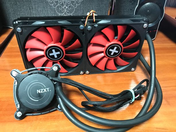СВО (СЖО) NZXT X61 Intel AMD 1150/1151/1155/1200/1366/2011 AM2 AM3