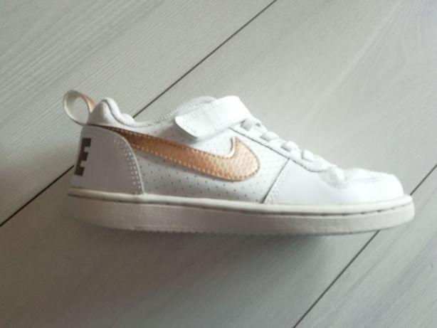Śliczne buty nike dla dziewczynki rozmiar 31 SKÓRA