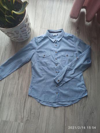 Koszula niebieska sinsay rozmiar L