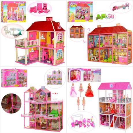 Много! Домик для кукол 1204 домик для куклы Барби будинок дім ляльки