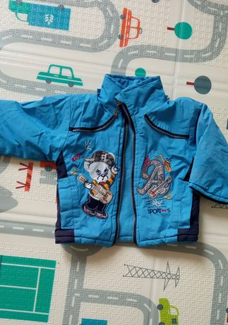 Яркая курточка для маленького мужчины