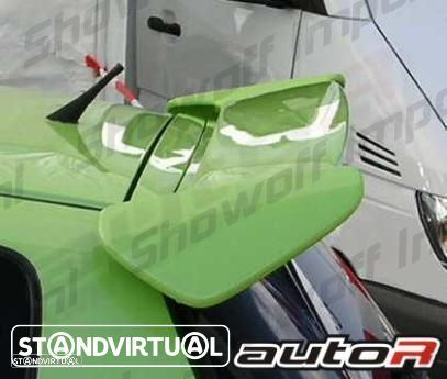 Aileron / lip / spoiler traseiro para Honda Civic EK 96-01 3 portas Type R Look
