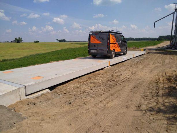 Waga samochodowa- betonowa 18 x 3- 50/60 T 5 lat gwarancji!!