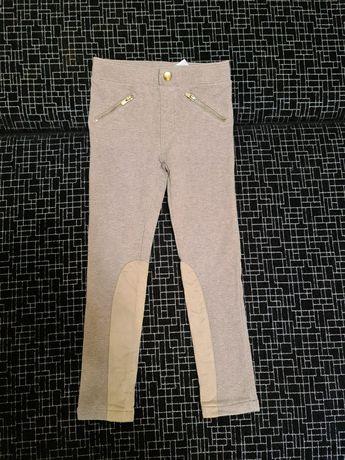 Лосины, джегинсы, штаны H&M на девочку 4 5 6 лет 110 см
