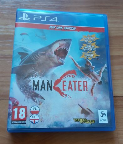 Man Eater ps4/ps5 stan idealny