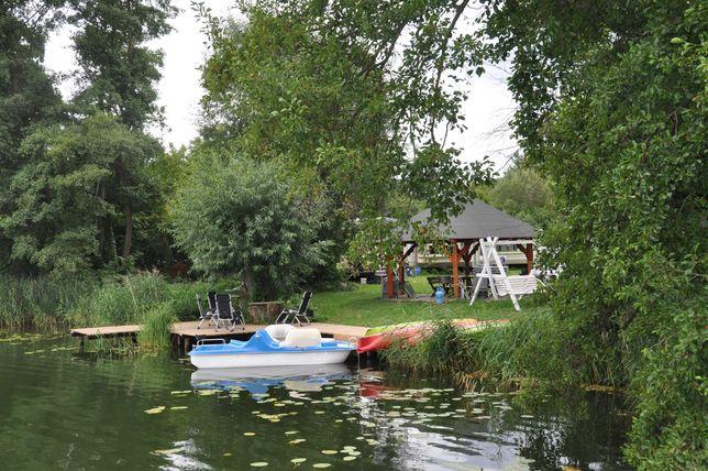 Domek holenderski nad jeziorem Długim