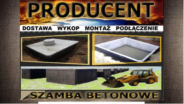 Szambo 9m3 szamba betonowe zbiornik na wodę kanał samochodowy piwnicę