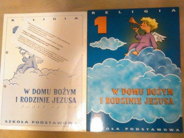 NOWE! W domu Bożym i rodzinie Jezusa podręcznik i karty pracy
