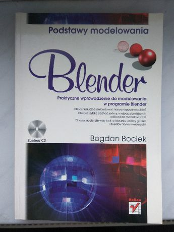 Blender podstawy modelowania B. Bociek Helion jak nowa! informatyka