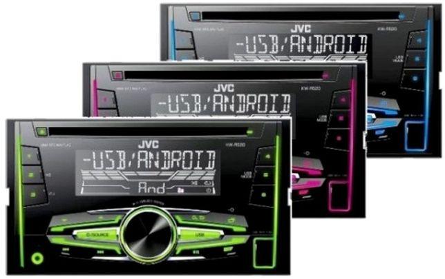 / CAR AUDIO / JVC /Radioodtwarzacz / CD / MP3 / USB / AUX / GSM /