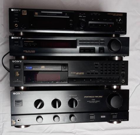 Sony , wzmacniacz , CD , radio