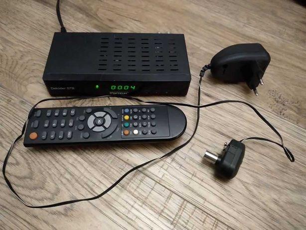 Dekoder DVB-T HD z pilotem+wzmacniacz sygnału antenowego DOWÓZ WYSYŁKA