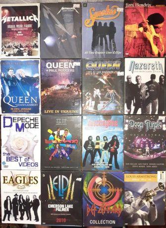 Распродажа музыкальные лицензионные DVD диски новые