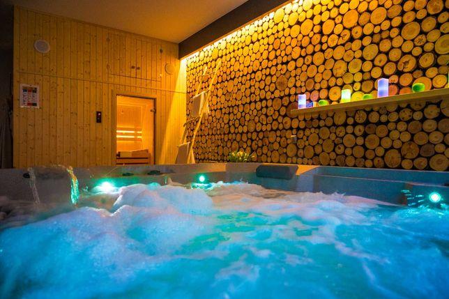 Kaszuby romantyczny weekend strefa SPA (jacuzzi, sauna),