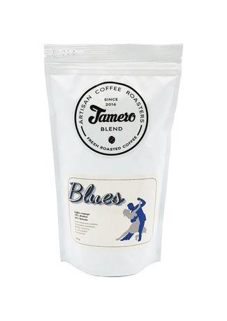"""Кава зернова свіжообсмажена ТМ """"Jamero"""" Blues 225г Мед цитруси шоколад"""