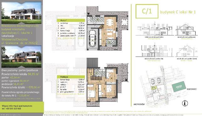 Mieszkania na sprzedaż, stan deweloperski. 116,59m2