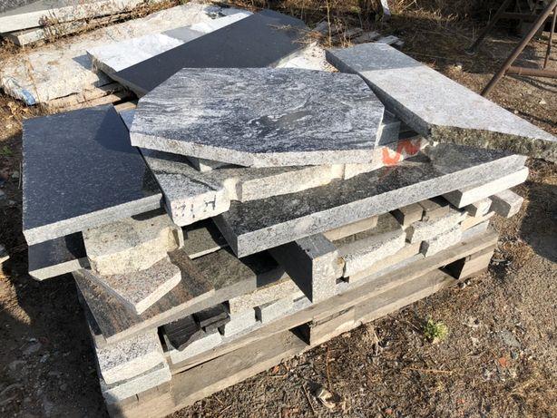 Odpady granitowe, granit, kamień naturalny, kostka granitowa, łupki