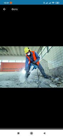 Грузчики, разнорабочие, подъем и спуск стройматериалов, вывоз строител