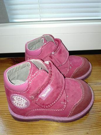 Демисезонные ботинки Tombi, 20 размер, стелька 12 см (11,5), кожа
