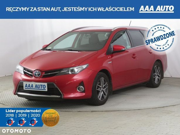 Toyota Auris Hybrid, Salon Polska, 1. Właściciel, Serwis Aso,