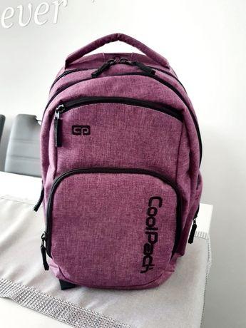Sprzedam plecak szkolny używany firmy CoolPack kolor fioletowy